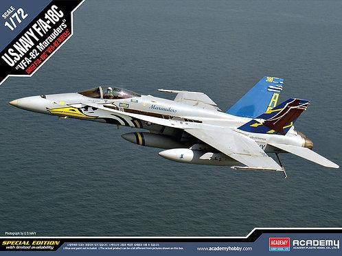 Academy - U.S. NAVY F/A-18C VFA-82 Marauders 1/72