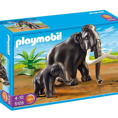 Playmobil 5105 - Mammut with Baby