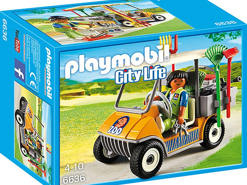 Playmobil 6636 City Life - Zookeeper's Cart