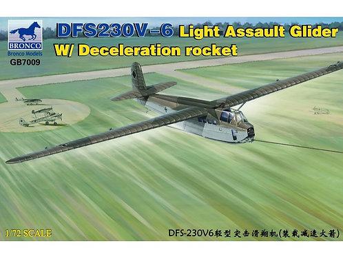 Bronco - DFS-230V-6 Light Assault Glider with Deceleration Rocket 1/72