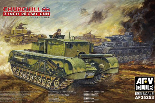 AFV Club - Churchill 3 Inch 20 CWT Gun 1/35