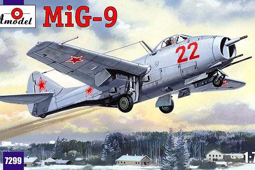 Amodel - Mikoyan MiG-9 1/72