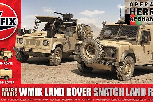 Airfix - WMIK Land Rover Snatch Land Rover 1/48