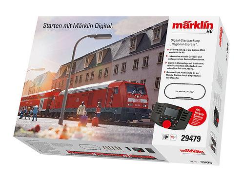 """Märklin - BR 245, Deutsche Bahn AG """"Regional Express"""" Digital Starter Set. 230 V"""