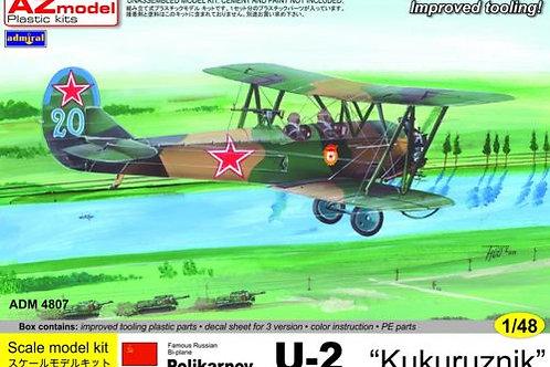 """Admiral - Polikarpov U-2 """"Kukuruznik"""" 1/48"""