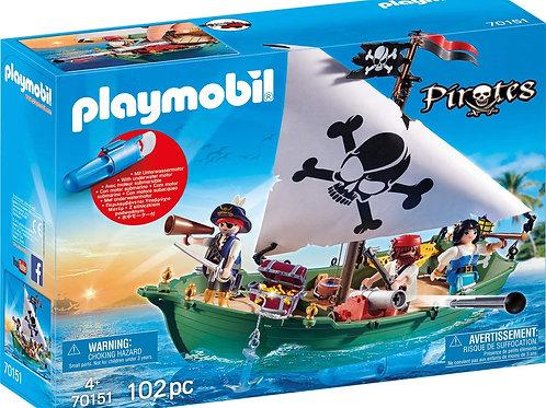 Playmobil 70151 Pirates - Piratenschiff