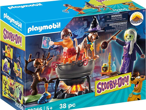 Playmobil 70366 Scooby-Doo - Adventure in Witches Cauldron
