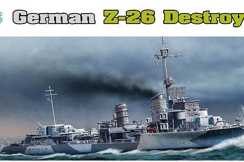 Dragon - German Z-26 Destroyer 1/350