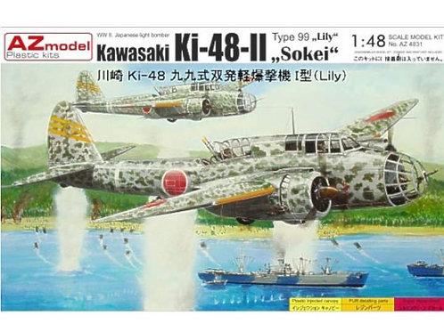 AZ Model - Kawasaki Ki-48-II Type 99 'Lily' 1/72