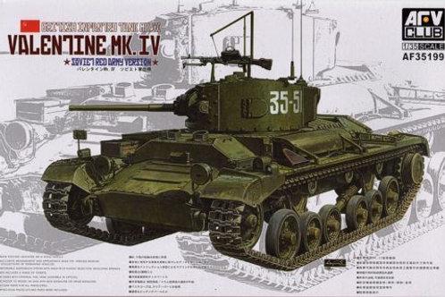 AFV Club - Valentine Mk.IV Soviet Red Army Vers.