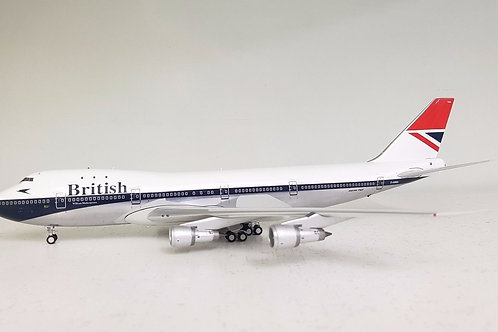 ARD200 - Boeing 747-100 British G-AWNK Polished (with Stand) 1/200