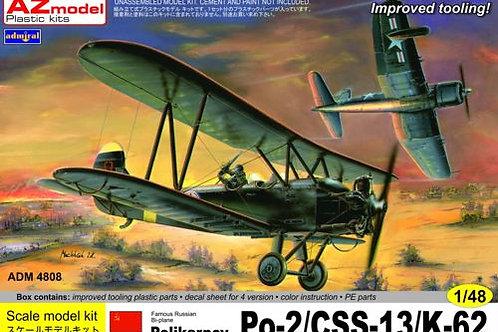 Admiral - Polikarpov Po-2/CSS-13/K-62 1/48