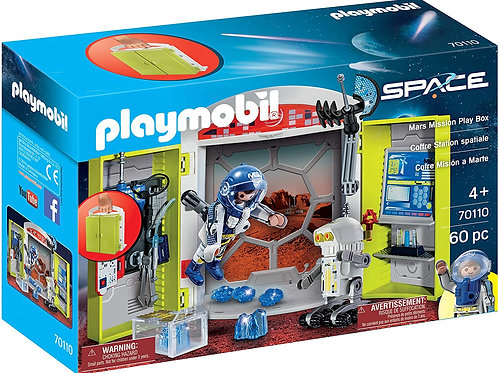Playmobil 70110 Space - Mars Mission Play Box