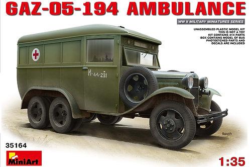 Miniart - GAZ-05-194 Ambulance 1/35
