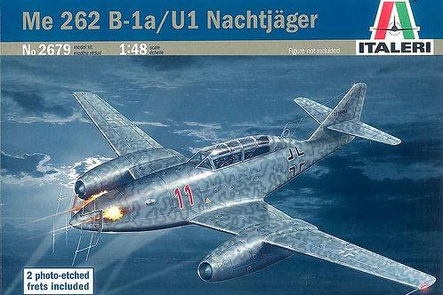 Italeri - Messerschmitt Me 262B-1a/U1 Nachtjäger 1/48