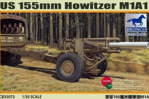 Bronco - US M1A1 155mm Howitzer 1/35