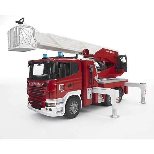 Bruder 03590 - Fire Engine with Water Pump 1/16