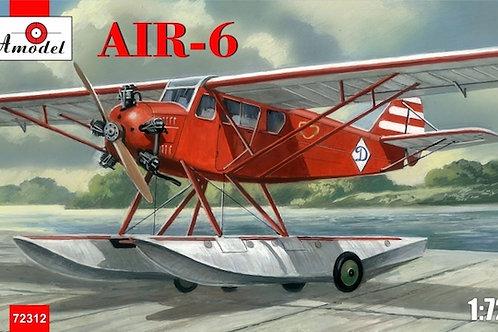 Amodel - AIR-6 Soviet Floatplane 1/72