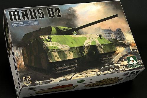 Takom - WWII German Super Heavy Tank Maus V2 1/35