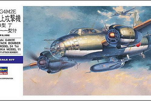 Hasegawa - Mitsubishi G4M2E Type 1 Attack Bomber 1/72