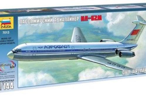 Zvezda - Civil Airliner Ilyushin Il-62M 1/144