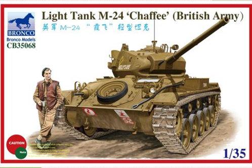Bronco - M24 Chaffee (British Army) Light Tank