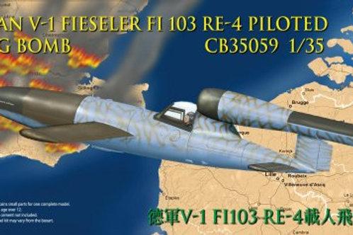 Bronco - Fieseler Fi 103 RE-4 Piloted V-1 Flying