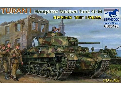 Bronco - Turan I Hungarian Medium Tank 40.M 1/35
