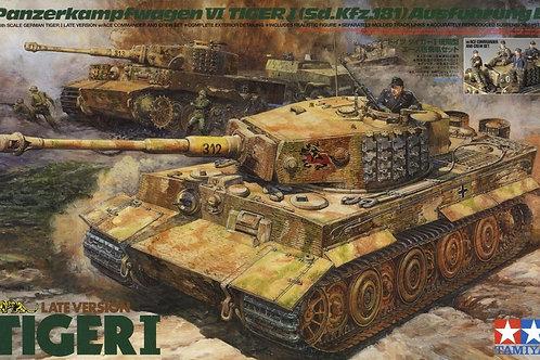 Tamiya - Pz.Kpfw.VI Tiger I (Sd.Kfz.181) Ausf.E