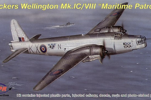 MPM - Vickers Wellington Mk.IC / Mk.VIII 1/72