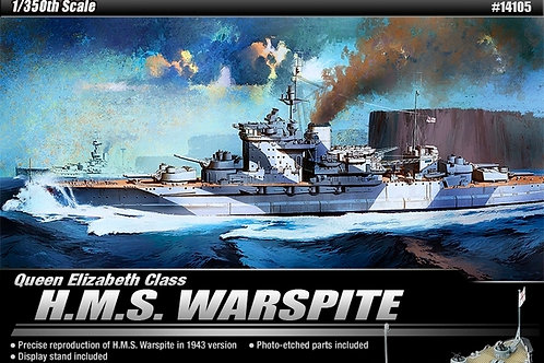 Academy - HMS Warspite 1/350
