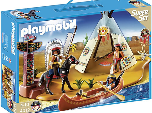 Playmobil 4012 Western - Native American Camp Superset
