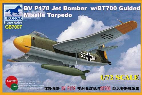 Bronco - Blohm & Voss P178 Dive Bomber Jet 1/72