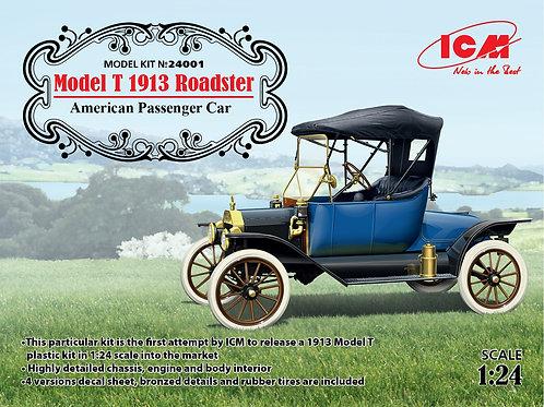 ICM - Model T 1913 Roadster American Passenger Car