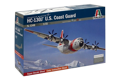 Italeri - HC-130J U.S. Coast Guard 1/72