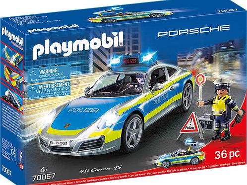 Playmobil 70067 City Action - Porsche 911 Carrera 4S Polizei