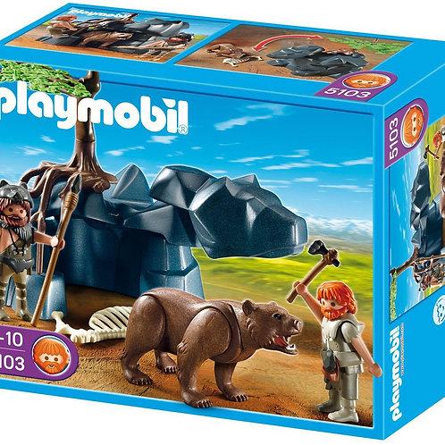 Playmobil 5103 - Bear with Caveman
