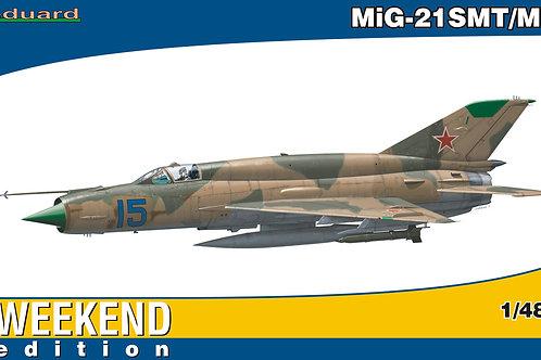 Eduard - Mikoyan MiG-21SMT/MT Weekend Edition 1/48