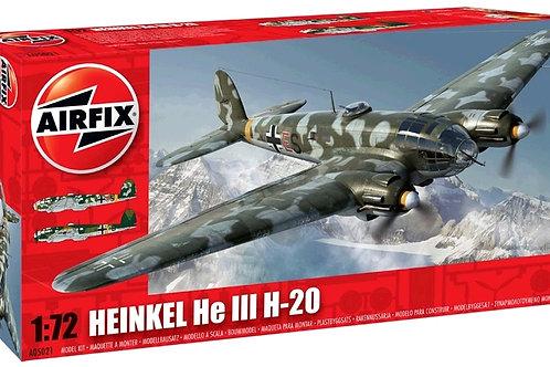 Airfix - German Bomber Heinkel III H-20 1/72