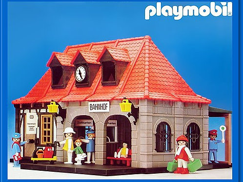 Playmobil 4300 - Train Station
