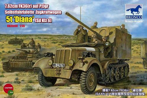 Bronco - Sd.Kfz. 6/3 5t. Diana 1/35