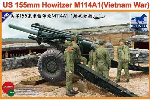 Bronco - M114A1 US 155mm Howitzer (Vietnam War)