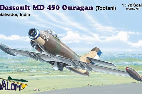 Valom - Dassault MD 450 Ouragan (Toofani) 1/72