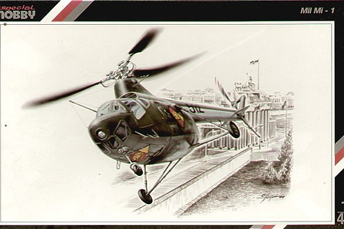 Special Hobby - Mil Mi-1 GDR and Czech decals 1/48