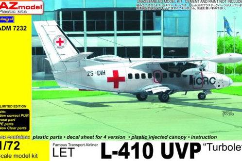 AZ Models - L-410UVP Civil w/PE parts 1/72