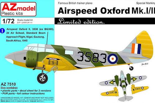 AZ Model - Airspeed Oxford Mk.I 1/72