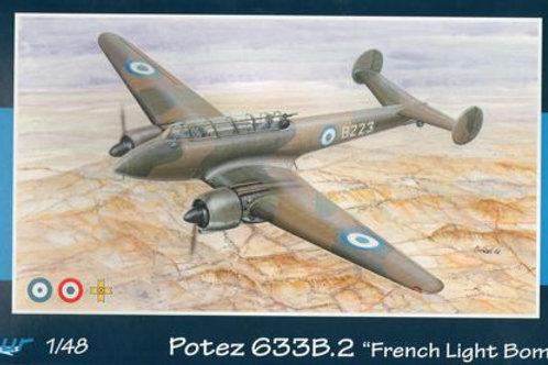 Azur - French Light Bomber Potez 633B-2 1/48