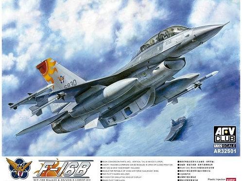 AFV Club - F-16B Block 20 & AN/VDS-5 1/32