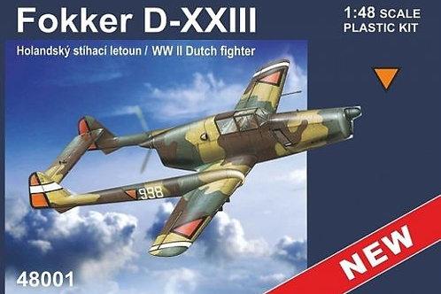 RS Models - Fokker D-XXIII WWII Dutch Fighter 1/48