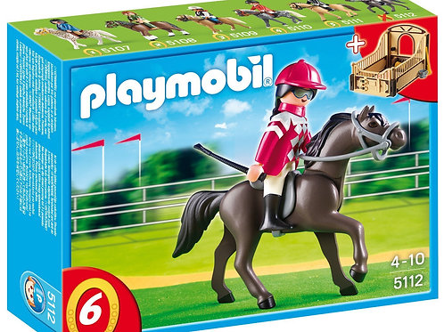 Playmobil 5112 Country - Race Horse with Stall